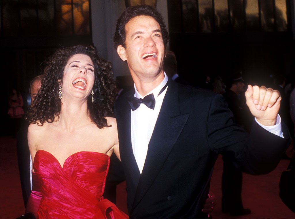 Tom Hanks, Rita Wilson, 1989 Oscars