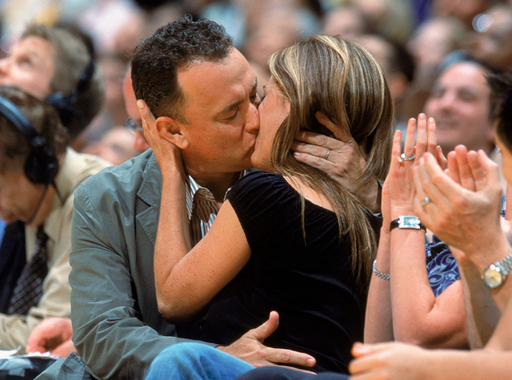 Tom Hanks, Rita Wilson, 2004
