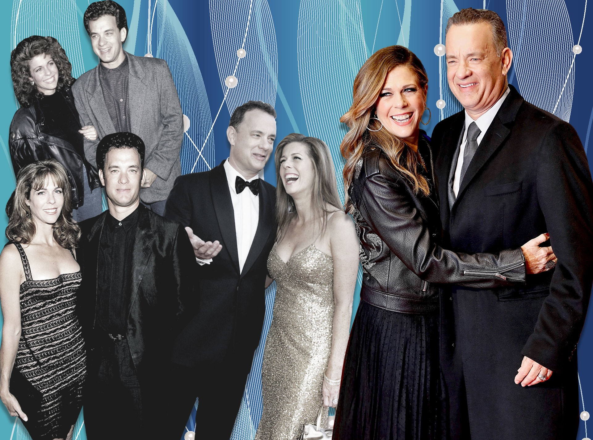 Tom Hanks, Rita Wilson, 30th Anniversary