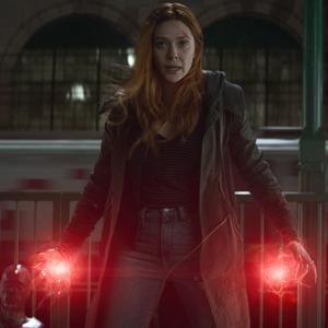 Avengers: Infinity War, Paul Bettany, Elizabeth Olsen