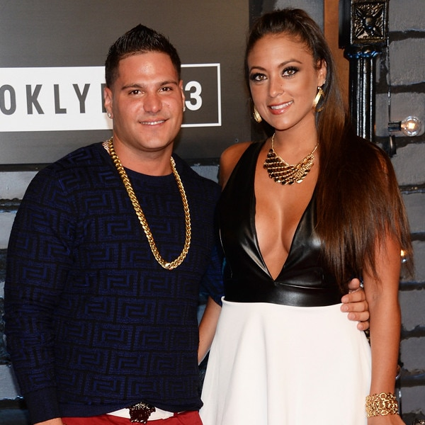A Look Back at Ronnie and Sammi's Jersey Shore Romance - E! Online