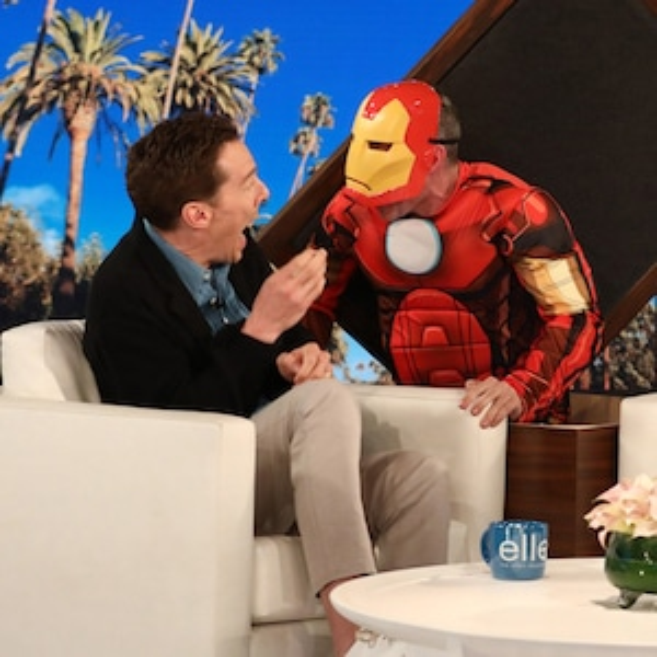 Benedict Cumberbatch, Ellen DeGeneres Show