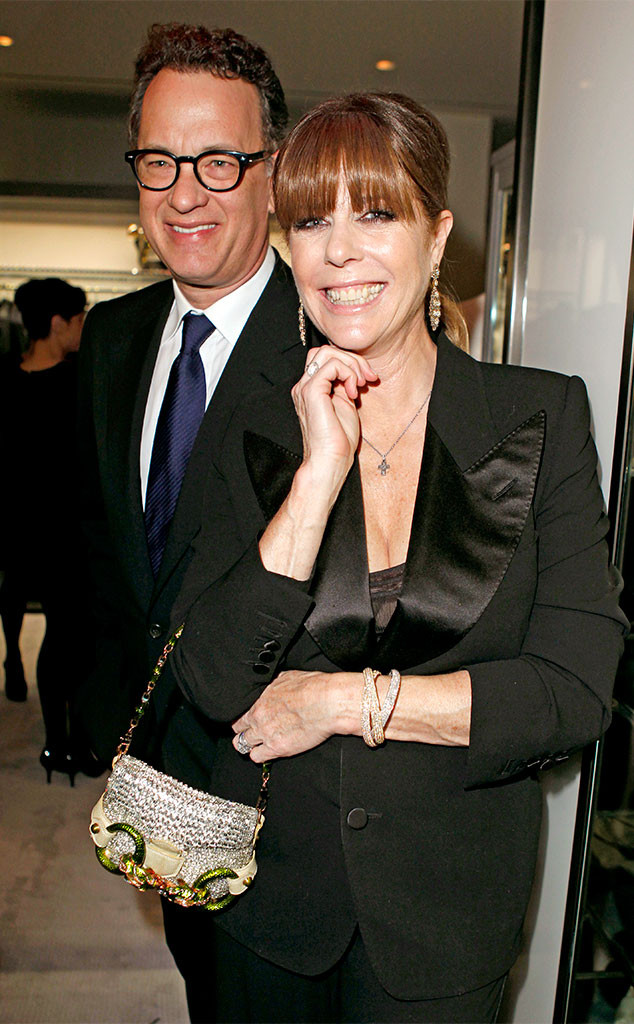 Tom Hanks, Rita Wilson, 2011, Tom Ford