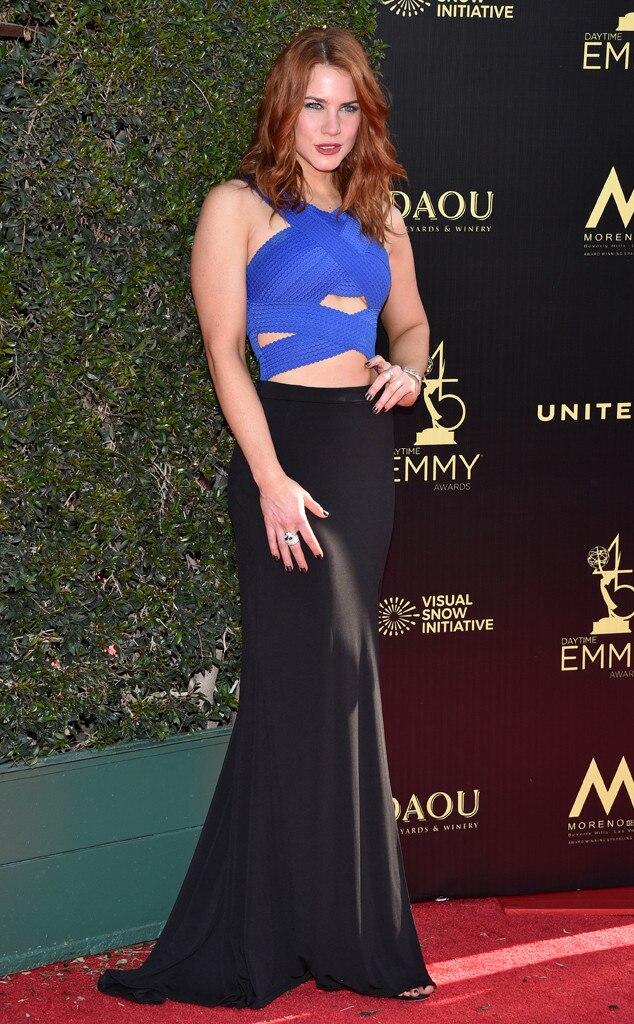 Courtney Hope, 2018 Daytime Creative Arts Emmy Awards