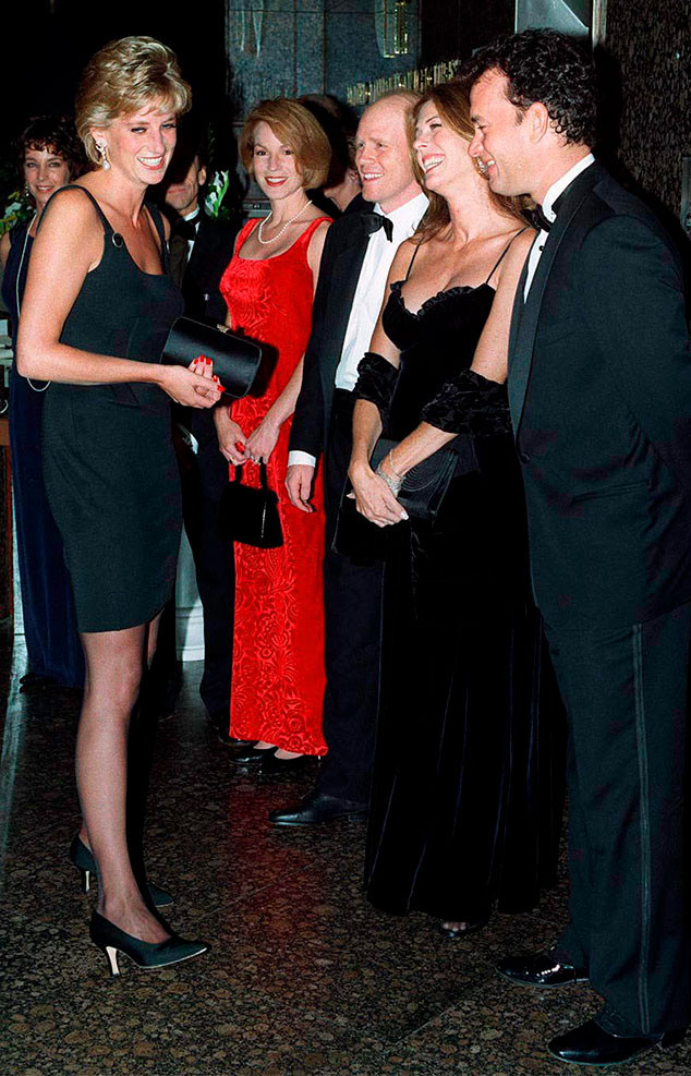 Tom Hanks, Rita Wilson, Princess Diana