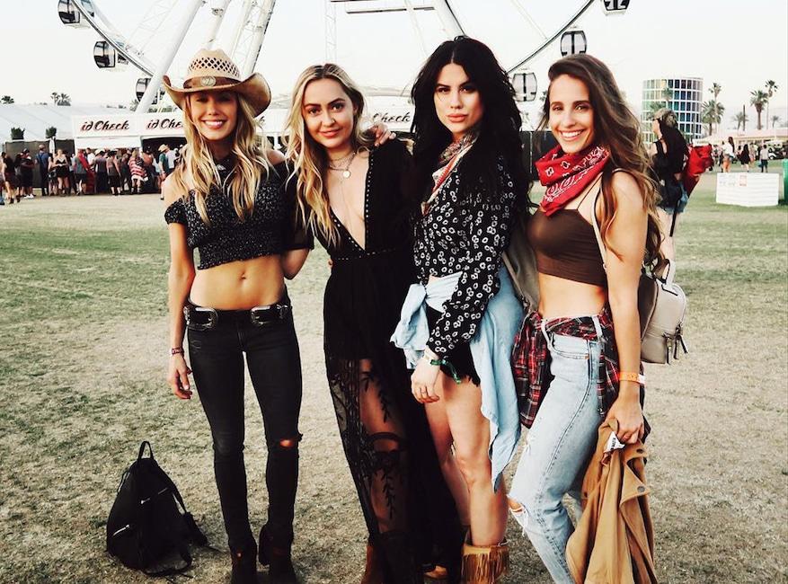 Brandi Cyrus, Stagecoach 2018, Instagram
