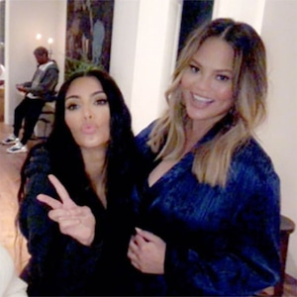 Kim Kardashian, Chrissy Teigen, Baby Shower