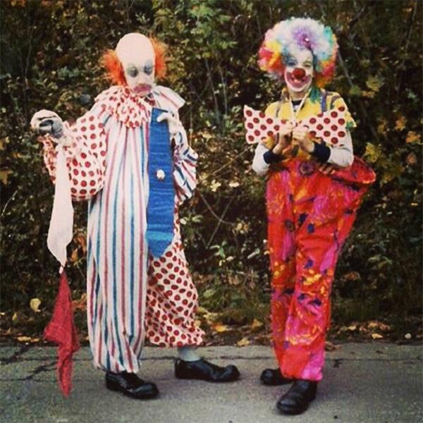 Property Brothers, Drew Scott, Jonathan Scott, Birthday, 40th, Clowns, Throwback