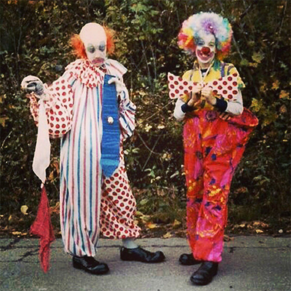 Property Brothers, Drew Scott, Jonathan Scott, Birthday, 40th, Clowns, Throwback