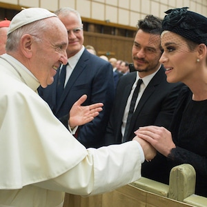 Katy Perry, Orlando Bloom, Pope Francis