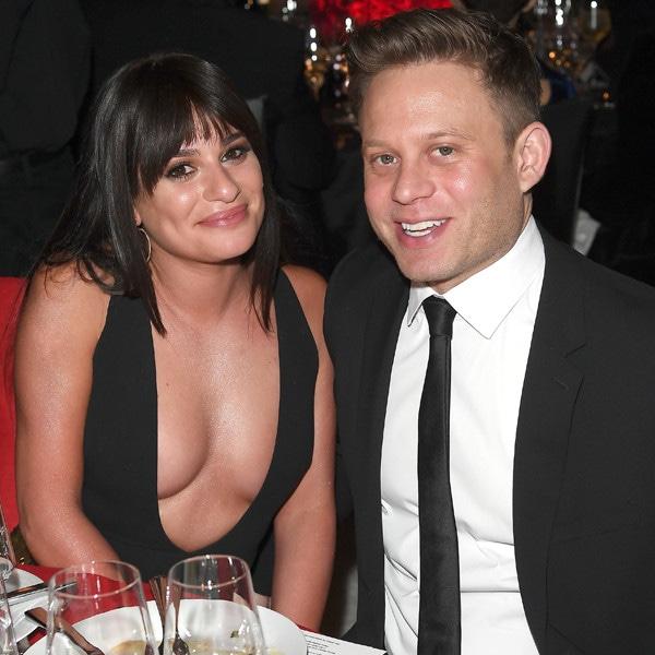 Lea Michele, Zandy Reich, 2018 Elton John AIDS Foundation Academy Awards Viewing Party