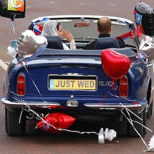 Prince William, Kate Middleton, wedding, car