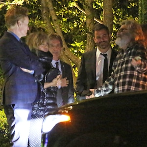 Kurt Russell, Goldie Hawn, Martin Short, Jimmy Kimmel, Conan O'Brien, Tom Hanks & Rita Wilson anniversary party