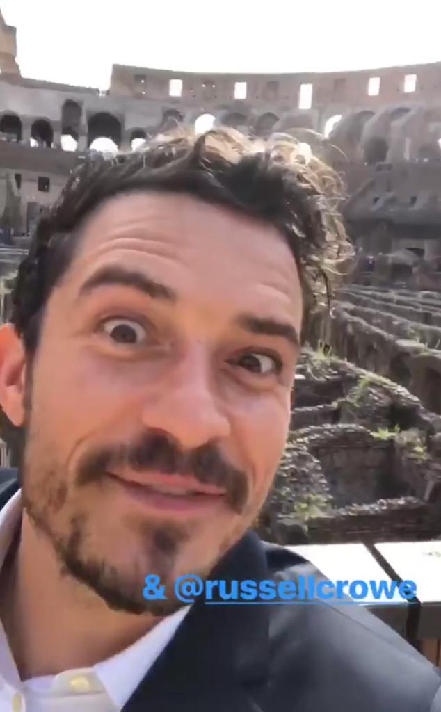 Orlando Bloom, Colosseum, Rome