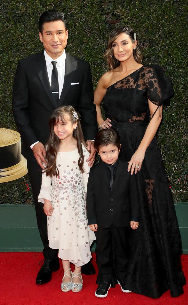 Mario Lopez, Courtney Lopez, 2018 Daytime Emmy Awards