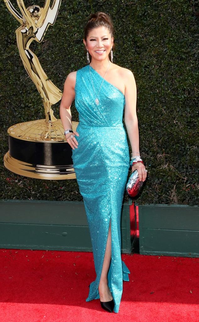 Julie Chen from Daytime Emmy Awards 2018 Red Carpet ... Emmy Awards 2018