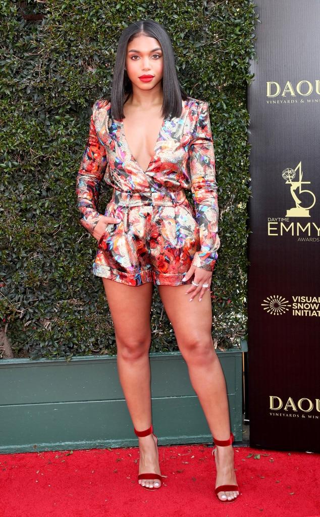 Lori Harvey, 2018 Daytime Emmy Awards