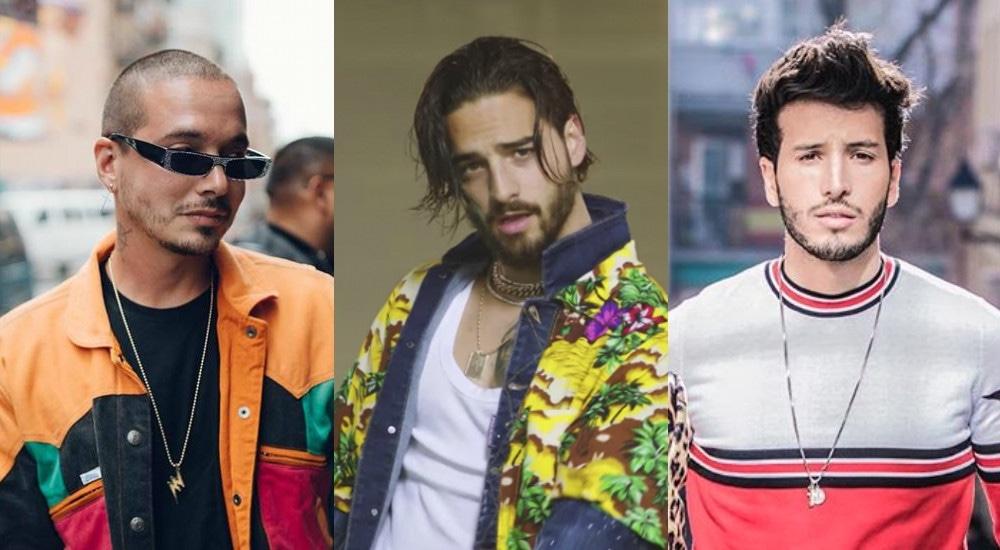J Balvin, Maluma, Sebastian Yatra