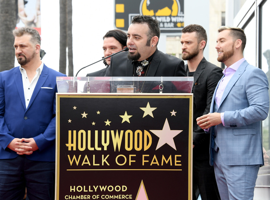 Nysnc, Hollywood Walk of Fame