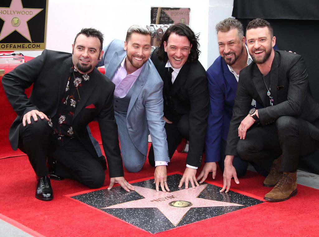 Nsync, Chris Kirkpatrick, Lance Bass, JC Chasez, Joey Fatone, Justin Timberlake