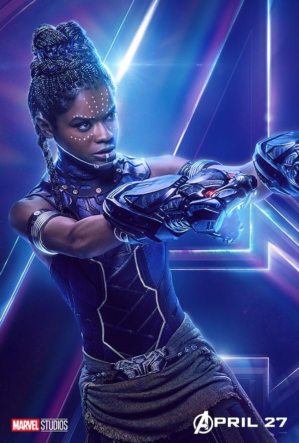 Shuri In Avengers Infinity War New Poster Hd Movies 4k: Letitia Wright As Shuri From Avengers: Infinity War