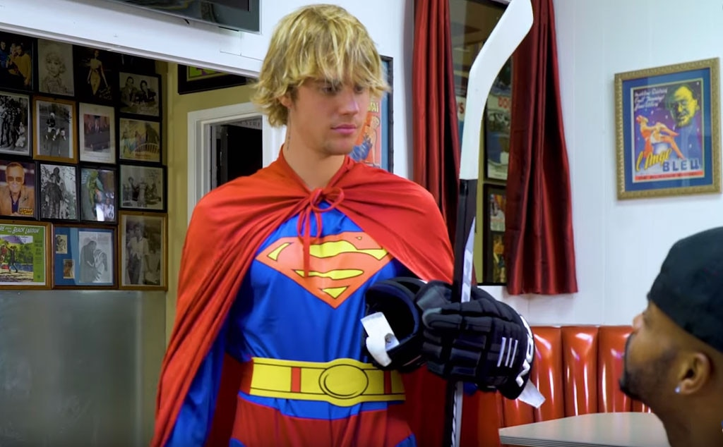 Justin Bieber pokes fun at cultural stereotypes in 'Racist Superman' YouTube sketch