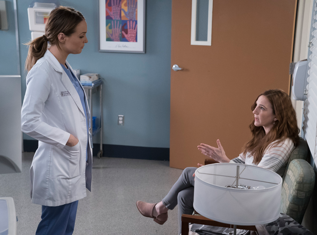Camilla Luddington, Sarah Utterback, Grey's Anatomy Season 14