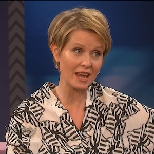 Cynthia Nixon, Wendy Williams Show
