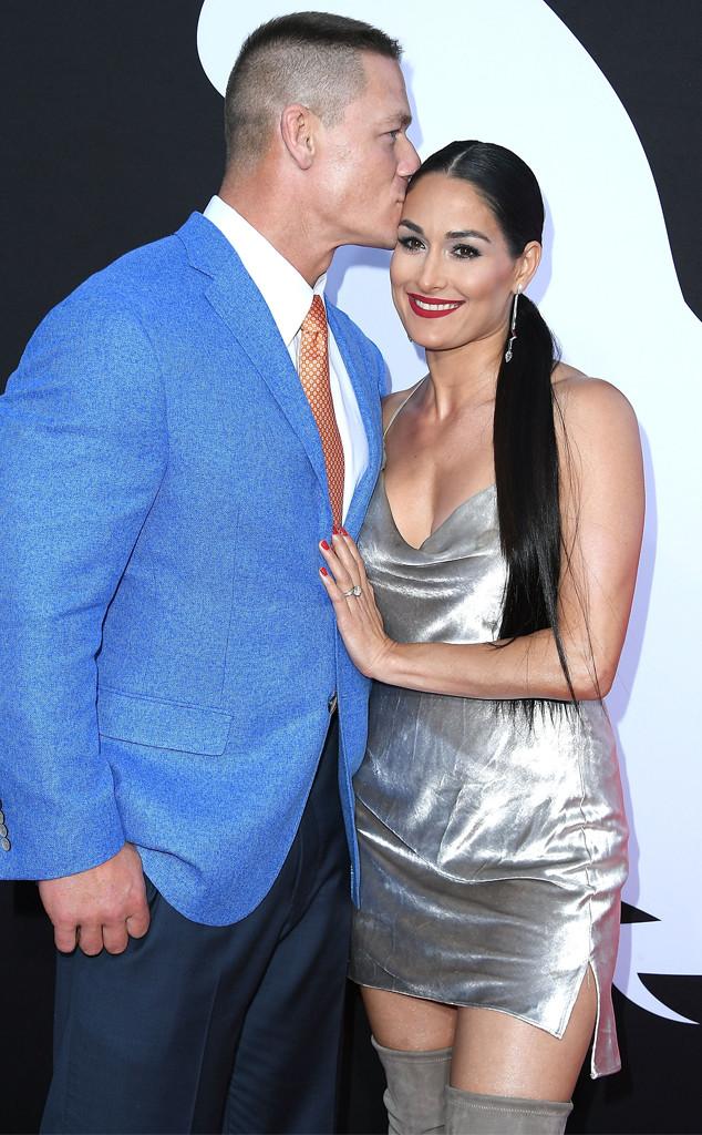John Cena, Nikki Bella, Blockers premiere
