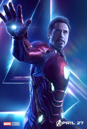 Robert Downey Jr, Iron Man, Tony Stark, Avengers: Infinity War, Poster