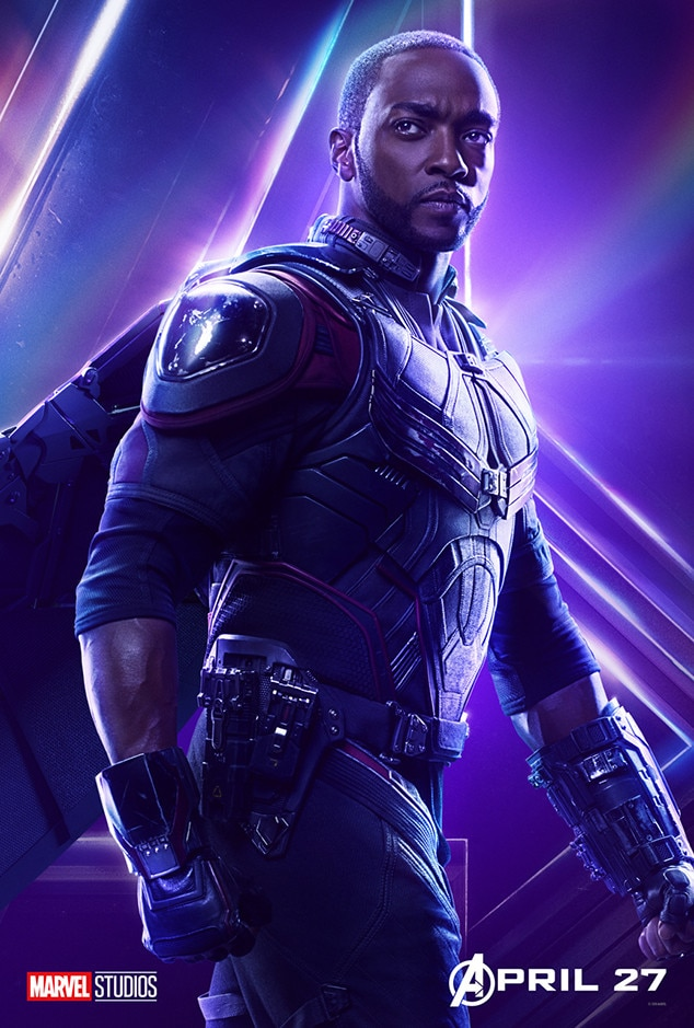 Anthony Mackie as Falcon / Sam Wilson from Avengers ...