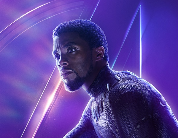 Marvel Black Panther Black Panther Avengers Infinity: Chadwick Boseman As Black Panther / T'Challa From Avengers
