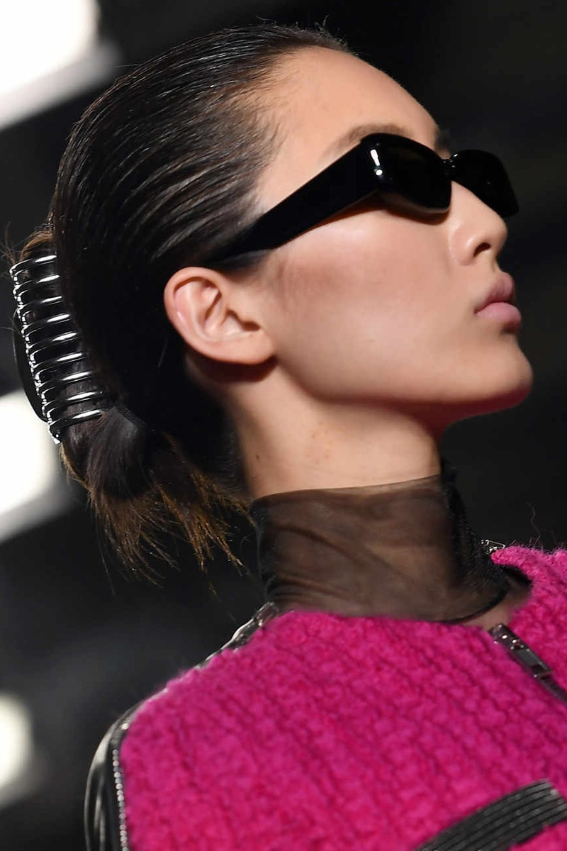 Claw Clip Craze from E!ssentials: 2 Runway Hairstyles You Can Do in ...