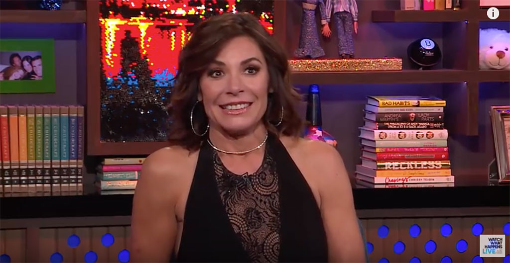 Luann de Lesseps, Watch What Happens Live, Arrest