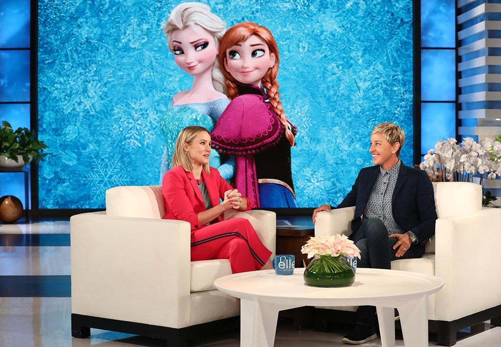Kristen Bell, Ellen DeGeneres