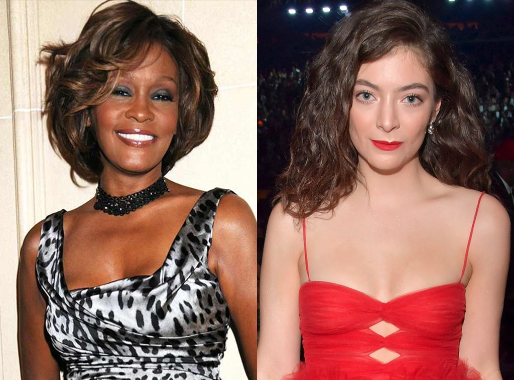 Why did Lorde's bathtub photo leave Whitney Houston fans unhappy?