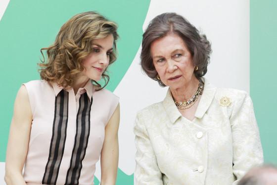 Reina Sofía, Reina Letizia