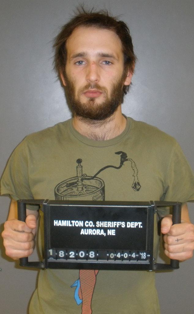Hopper Penn, Arrested, Mugshot