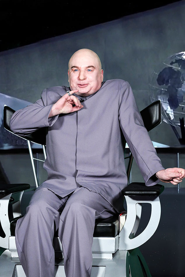Mike Myers, The Tonight Show, Dr. Evil