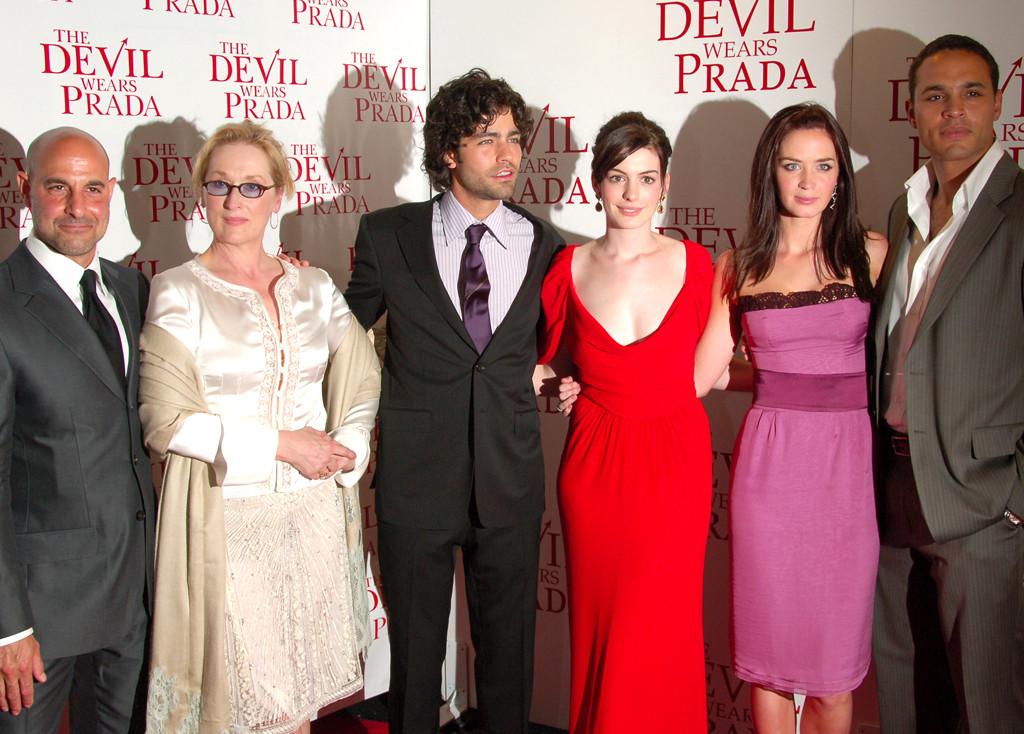 Stanley Tucci, Meryl Streep, Adrian Grenier, Anne Hathaway, Emily Blunt, Daniel Sunjata