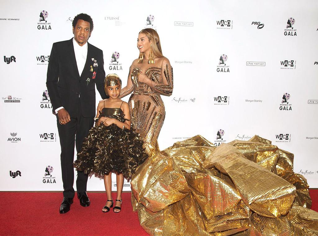Jay-Z, Blue Ivy, Beyonce