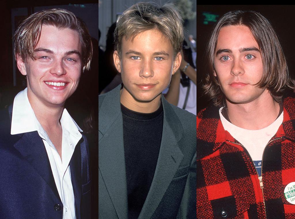 Leonardo DiCaprio, Jonathan Taylor Thomas, Jared Leto