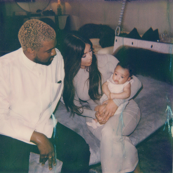 Kim Kardashian, Kanye West, Chicago West