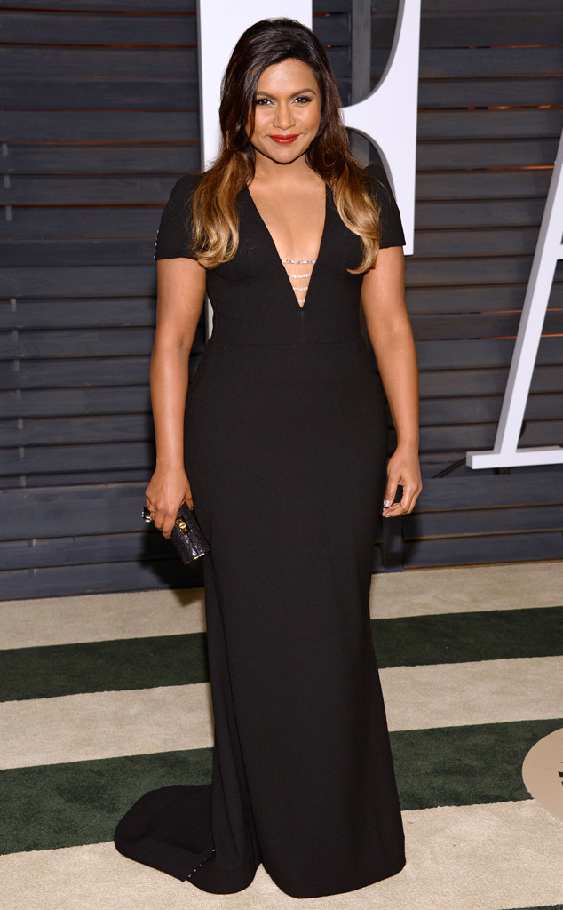 Mindy Kaling, 2015 Vanity Fair Oscar Party