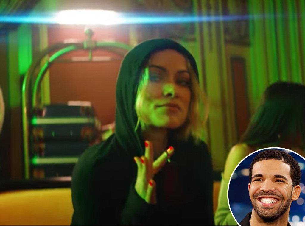 Olivia Wilde, Drake, Music Video