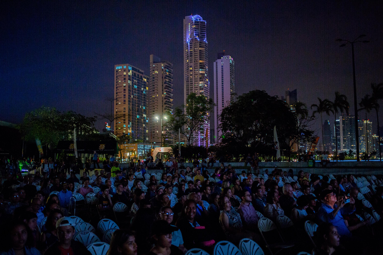 Cine al aire libre, IFF Panama 2018