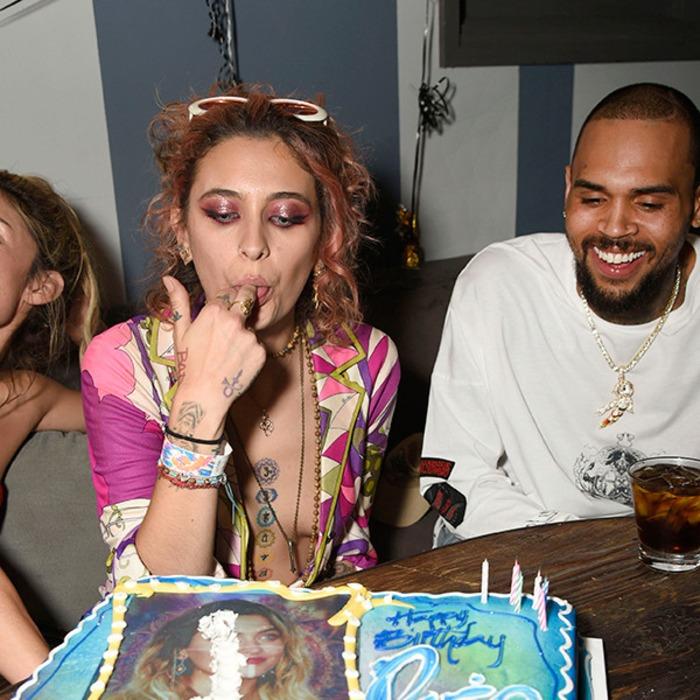 Paris Jackson Celebrates 20th Birthday With Chris Brown Paris