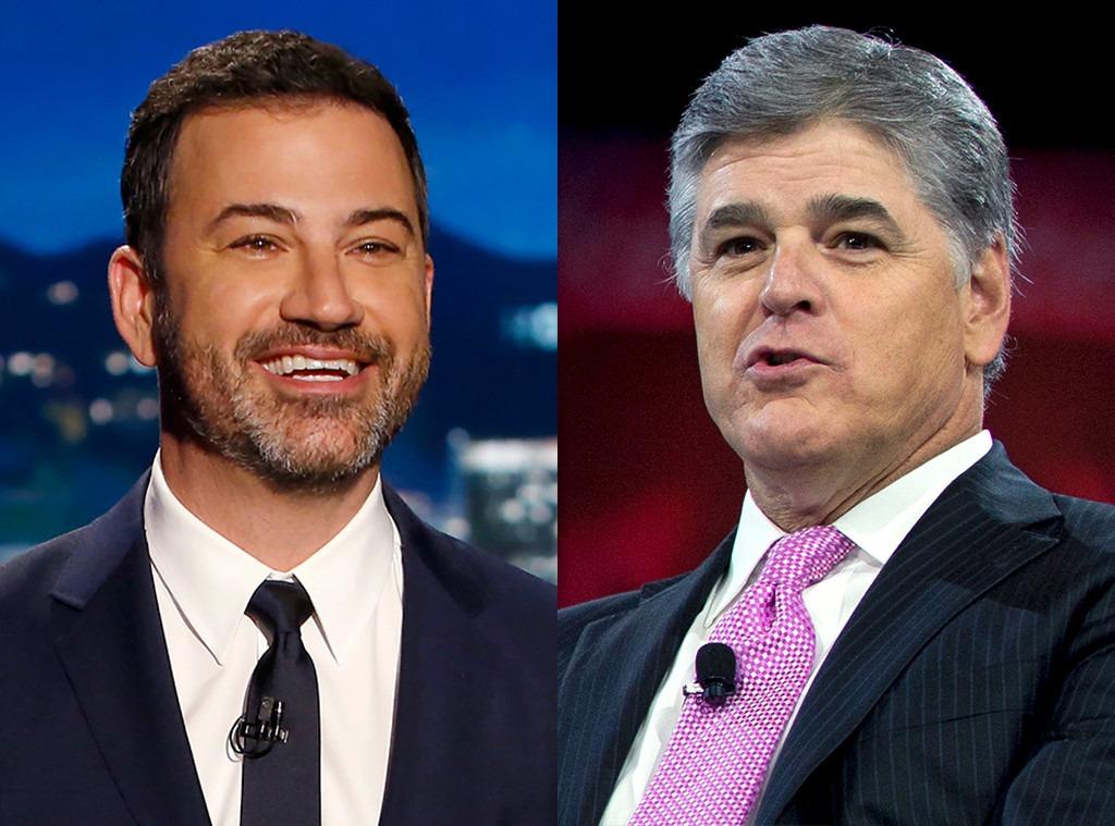 Jimmy Kimmel, Sean Hannity