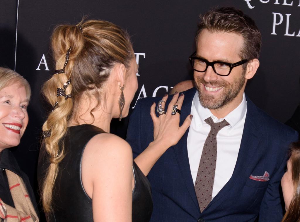 Blake Lively, Ryan Reynolds, hair