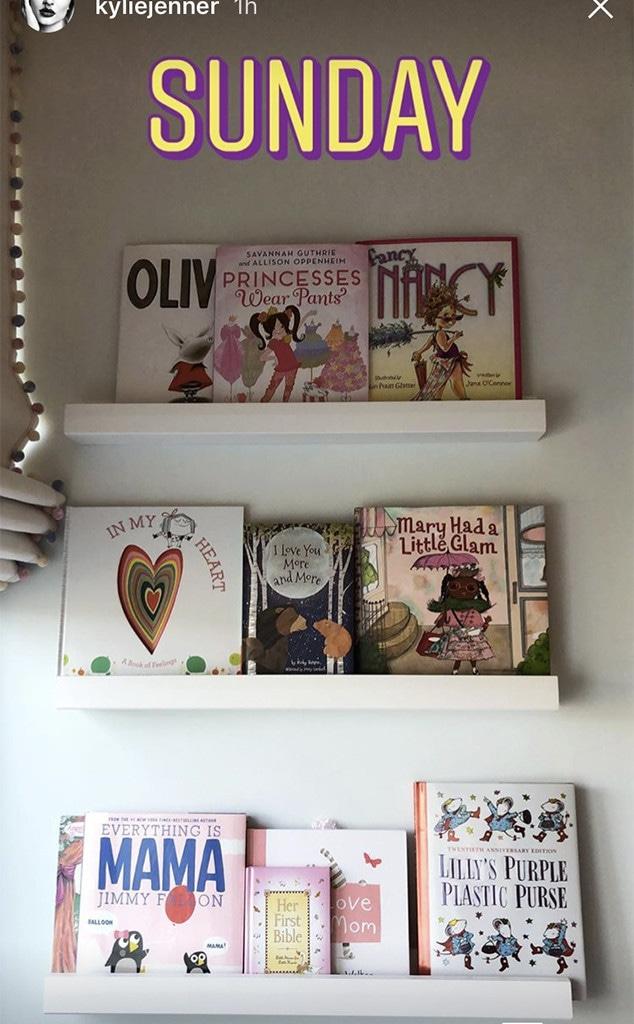 Kylie Jenner, Stormi Webster, Daughter, Books